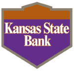 Kansas State Bank Logo with Shield